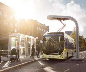 Pierwsze w Polsce autobusy elektryczno-hybrydowe Volvo