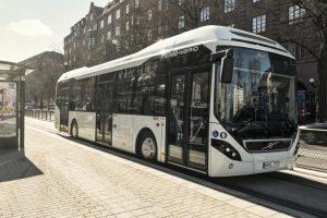 Autobusy hybrydowe Volvo w Białymstoku