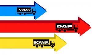 Używane ciężarówki, które najbardziej interesowały Polaków w 2017 r.