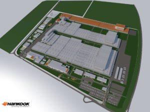 Rozbudowa europejskiej fabryki Hankook