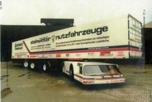 Steinwinter Supercargo 2040 – ciężarówka z charakterem sportowego samochodu