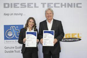 Diesel Technic nagrodzony za system zarządzania