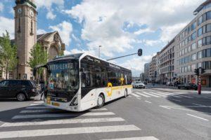 Autobusy z wrocławskiej fabryki Volvo w Norwegii