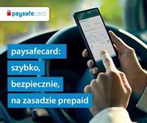 Zapłać opłatę drogową za pomocą paysafecard