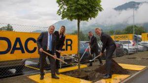 Nowe centrum logistyczne Dachser w Tyrolu