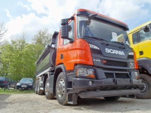 Scania XT na targach Autostrada