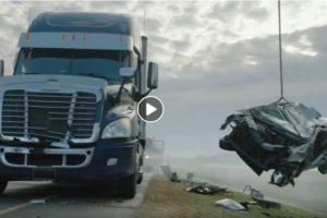 Niesamowity francuski film przestrogą dla kierowców