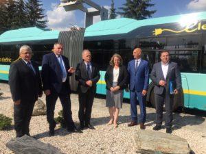Autobusy autonomiczne w Jaworznie