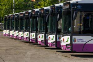 Solaris dostarczył autobusy elektryczne do Rumunii