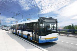 Przegubowe trolejbusy Solaris Trollino w Mediolanie
