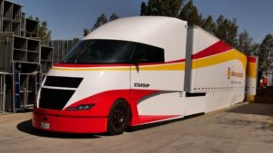 Poznaj Starship – futurystyczną ciężarówkę
