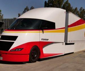 Poznaj Starship - futurystyczną ciężarówkę