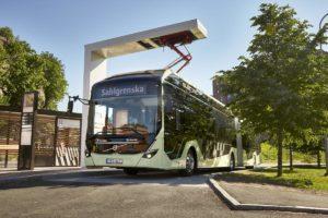 Elektryczne autobusy przegubowe w Göteborgu
