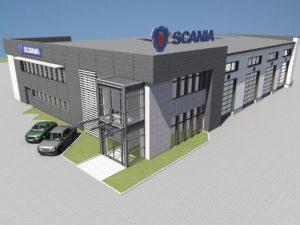 Scania z nową siedzibą serwisu w Łowiczu