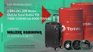 Promocja olejów Total w Autos