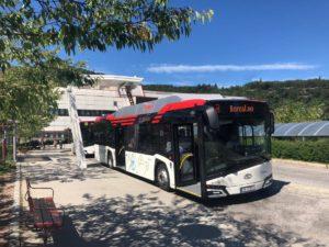 Kolejne autobusy Solaris w Norwegii