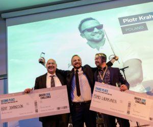 Polak zwycięzcą Volvo Trucks Driver Challange 2018 - wywiad