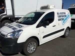 W pełni elektryczny pojazd chłodniczy Thermo King i Northgate