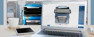 Aplikacja 3D DAF Truck Configurator nominowana do nagrody Computable Awards 2018