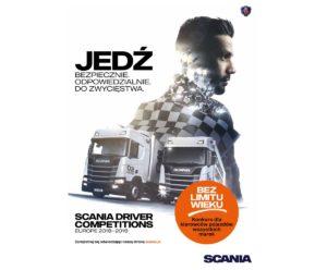 Konkurs Kierowców Scania 2018 – 2019