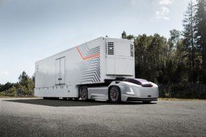 Elektryczna i autonomiczna ciężarówka Volvo