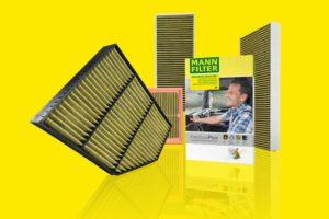 MANN-FILTER przedstawia rozszerzoną ofertę filtrów kabinowych FreciousPlus