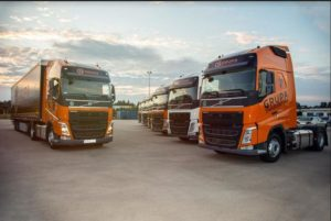 Volvo FH we flocie Grupy Transportowej