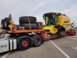 Fracht FWO Polska zrealizował dostawę ponadgabarytów