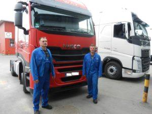 Warsztatowy mistrz i uczeń – wywiad z mechanikami Truck Partner