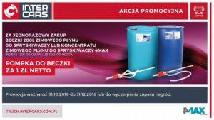 Kup zimowy płyn do spryskiwaczy i zyskaj – promocja Inter Cars