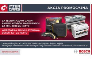 Akumulatorowa promocja Bosch w Inter Cars