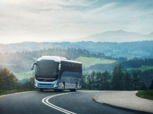 Dalekobieżne autobusy turystyczne Volvo