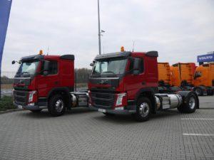 Pierwsze pojazdy Volvo FM LNG zjechały do Polski