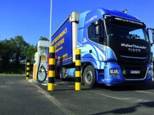 Wsparcie BioLNG EuroNet przy obniżeniu emisji CO2 transportu w Europie