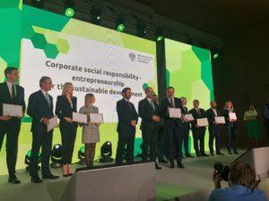Wyróżnienie dla Volvo Polska za realizację Celów Zrównoważonego Rozwoju