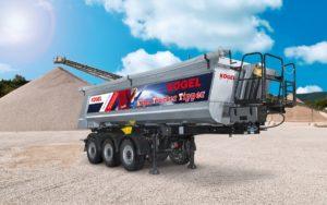 Kögel przedstawi naczepę Trucker Tipper na targach Bauma