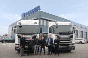 Pierwsze pojazdy Scania zasilane LNG na Śląsku