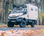 IVECO camper 4x4 w podróży dookoła świata