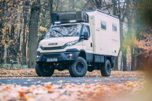 IVECO camper 4×4 w podróży dookoła świata