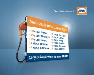 200 tanich stacji w polskiej sieci DKV
