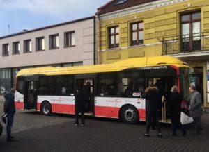 Autobus hybrydowy Volvo na testach w Koninie