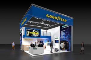 Nowe produkty i rozwiązania Goodyear na targach Bauma