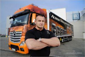 Transport to ciężki kawałek chleba – wywiad z Mariuszem Pudzianowskim