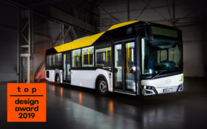 Solaris Urbino 12 LE lite hybrid nagrodzony Top Design Award