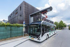 Baterie z autobusów elektrycznych Volvo zasilą domy