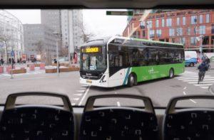 Elektryczne autobusy Volvo w Holandii