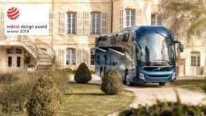 Volvo Buses z nagrodą Red Dot Product Design