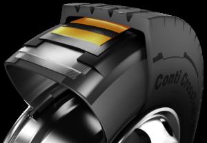 Uniwersalna opona ciężarowa Conti CrossTrac