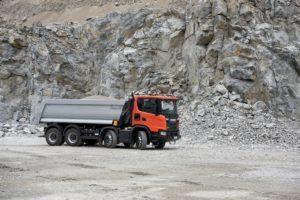 Scania na targach Bauma