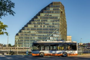 Debiut elektrycznego Solarisa na Litwie